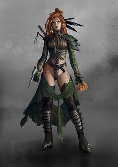 Apocalyptics-archetype by Marko-Djurdjevic on deviantART- sadly she needs some pants . . .