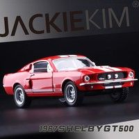 Name: cobra GT500 Ford mustang 1967 Product material:Metal and Plastic Materialor High Simulation