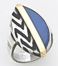 Art Deco ring by Jean Despres