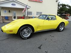 Used 1976 Chevrolet Corvette for Sale (with Photos) Yellow Corvette, Corvette For Sale, Corvettes, Chevrolet Corvette, Used Cars, Muscle Cars, Cool Cars, Hawaii, Passion