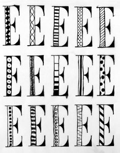 Hand-drawn typography on tracing paper, done for my first Graphic Design Without a Computer video. Blog post: http://karenkavett.com/blog/685/graphic-design-without-a-computer-part-1.php
