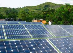 Solar Power Brings Light to Haiti