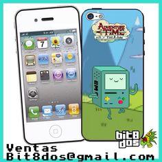 Case BMO de Hora de aventura en  #pixelart Te elaboramos cualquier diseño de videojuegos. Más información en bit8dos@gmail.com