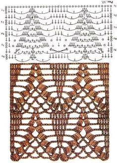 TRICO y CROCHET-madona-mía: Graficos Crochet