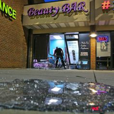 Atlanta police Monday, Aug. 26, 2013 were investigating a predawn smash-and-grab burglary at a hair salon near Greenbriar Mall.