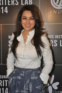 Beauty with brains Tisca Chopra at the Mumbai Mantra | Sundance Institute Screenwriters Lab #Style #Bollywood #Fashion #Beauty