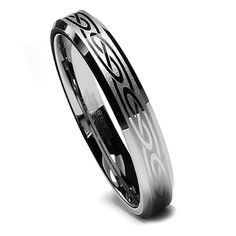 Tungsten Ring Direct - Tungsten Ring for Women, Wedding Band with Celtic Design, Bevel Edge, 6MM, $24.99 (http://www.tungstenringdirect.com/tungsten-ring-for-women-wedding-band-with-celtic-design-bevel-edge-6mm/)