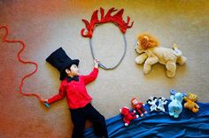 Creative Mom Turns Her Sleeping Baby Into Adorable Works Of Art. See These 44 Amazing Photos. Photography Props Kids, Baby Boy Photography, Creative Photography, Sleeping Baby Pictures, Sleep Pictures, Kid Pictures, Cirque Photo, Kind Photo, Monthly Baby Photos