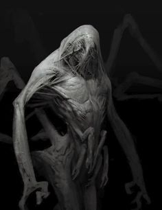 Creeper Monster, Anthony Jones on ArtStation at https://www.artstation.com/artwork/creeper-monster