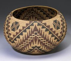 by Nellie Jameson | Paiute polychrome basket