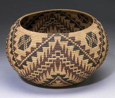 by Nellie Jameson   Paiute polychrome basket