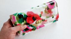 Cash Envelope Wallet  Spring Floral  Tabs Included by authenticU