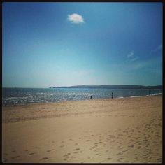 Sandbanks Beach in Poole, Poole