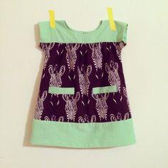 a little gray: Zebra Ice Cream Dress