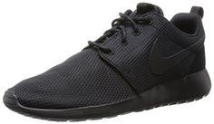 Nike Rosche Run Damen Sneakers, Negro (Black / Black-Anthracite), 42.5 EU - http://herrentaschenkaufen.de/nike/42-5-nike-rosche-run-damen-sneakers-schwarz-black-5