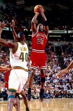 Michael Jordan over Shawn Kemp