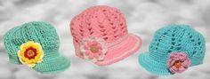 Crochet little girl hats on etsy.com/shop/BoutiqueofVirtuosity