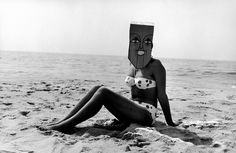 Inge Morath (1923–2002) … Untitled (from the Mask Series with Saul Steinberg) ……
