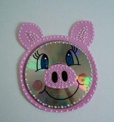 cd pig craft      Crafts and Worksheets for Preschool,Toddler and Kindergarten