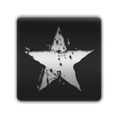 Grunge Star (Stars) Icon #054280