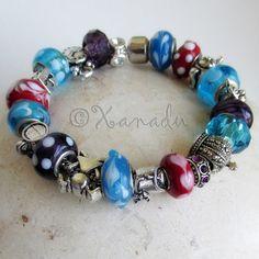 Alice In Wonderland European Charm Bracelet With by xanaducharms, $29.95 #xanadudesigns #pandora #bracelet #jewelry #fashion #wonderland