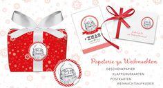 Hier finden Sie alles rund ums Thema Weihnachten und Adventszeit. Schöne Papeterie Produkte von Grußkarte mit Herz: Geschenkpapier, Backbücher, Weihnachtsaufkleber, Grußkarten, DIY - Adventskalender, Bio Patisserie Boxen u.v.m.