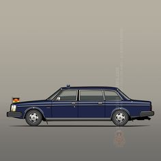 Volvo 264TE (Top Executive, 1976–81) – A limousine version of the 264, exported to the former German Democratic Republic for use by the government. ©2016 Tom Mayer, Monkey Crisis On Mars – All Rights Reserved #Volvo