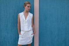 Stella Forest ★ Lima white dress #outfit http://www.stellaforest.fr/