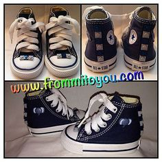 b84c8e833879a3 Custom designed shoes by From Mi To You  lego  converse  elephant   babyshower