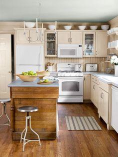 Lori Guyer Budget Kitchen Remodel - Cheap Kitchen Renovation Ideas - Country Living