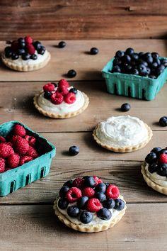 Berry No-Bake Cheesecake Tarts | Pastry Affair