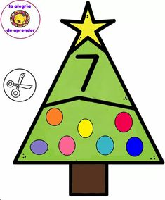 Christmas Activities For Kids, Christmas Themes, Christmas Crafts, Montessori Trays, Cupcake Birthday Cake, Math 2, Math Numbers, Busy Book, In Kindergarten