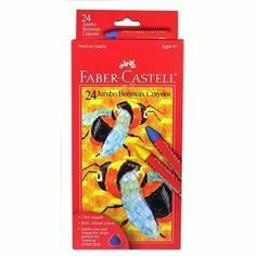 Faber-Castell 24ct Beeswax Crayons by Faber-Castell Beeswax crayons have more vibrant colors and are more fun for children. This is a good alternative to a more expensive Stockmar.
