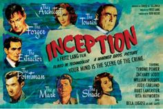 """Fritz Lang as the imagineer of Inception, not Christopher Nolan. """"Your mind is the scene of the crime."""""""