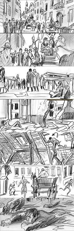 37 best Movie Storyboards images on Pinterest Storyboard artist