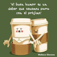"""""""El buen humor es un deber que tenemos para con el prójimo."""" #WallaceStevens #Citas #Frases @Candidman"""