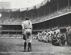 June 13, 1948: Babe Ruth in his last appearance at Yankee Stadium, captured