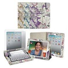 Apple iPad 2 Atlas Print