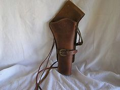 #Australian stock #saddle co leather cross draw gun holster #large bore 44 45 bra,  View more on the LINK: http://www.zeppy.io/product/gb/2/112030566102/