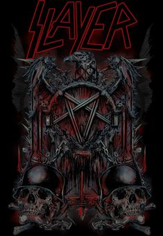 SLAYER by Rafal Wechterowicz, via Behance