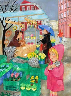 Kočičky Illustration Art, Painting, Painting Art, Paintings, Painted Canvas, Drawings