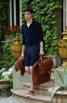 Trussardi 2013SS. Holiday relaxing style