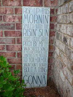 "Bob Marley - Three Little Birds Subway Sign - 36"" tall Hand Painted and Distressed. $75.00, via Etsy.  On my wants list"