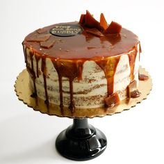 Salted Caramel Party Cake