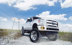 Built Tough #Ford Lifted Wheel and Tire packages available: http://www.wheelhero.com/rims-and-tires