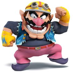 Wario - Characters & Art - Super Smash Bros. for 3DS and Wii U