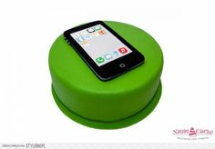 Smartfon, telefon komórkowy, śmieszne torty, tort ze smartfonem, smartfon na torcie, Tarnów