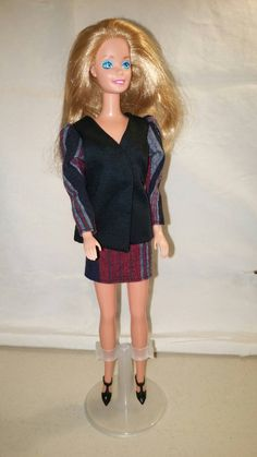 Office Outfit For Barbie With Shoes