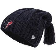 New Era Houston Texans Ladies Winter Slouch Knit Hat - Navy Blue It's time for the greatest deal of the YEAR! Save 30% on orders over $60 when you use the code: CFLASH. Don't wait, inventory is limited!