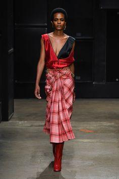 Marni | Ready-to-Wear - Autumn 2019 | Look 5 New Times, Marni, Catwalk, Autumn, Fall, Ready To Wear, Stylists, Runway, Vogue